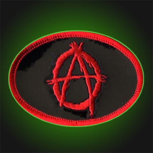 Anarchy Oval Symbol Patch