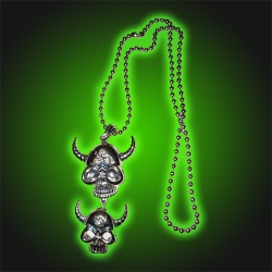 Viking Skulls - Necklace