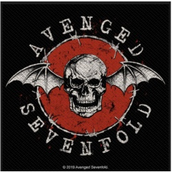Avenged Sevenfold - Skull Bat Patch