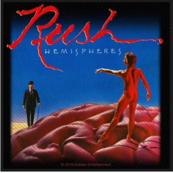 Rush - Hemispheres Patch