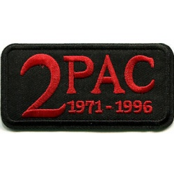 2Pac - 71-96 Embroidered Patch
