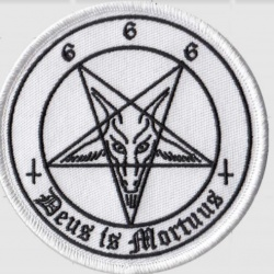 Pentagram - Embroidered Jacket Patch