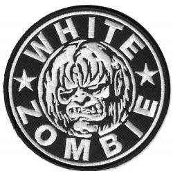 White Zombie - Ghoul and Logo Patch