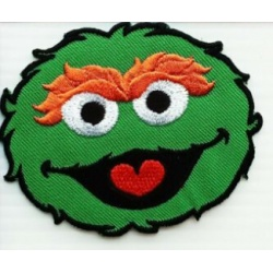 Oscar the Grouch - Face Patch