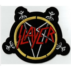 Slayer - Swords Pentagram Patch